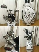 Dunlop Xxio 10 Menand039s Golf Club Set 23 Wards With Back