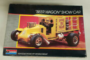 1986 Monogram 124 Scale Beer Wagon Show Car Model Some Pieces Might Be Missing