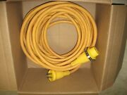 50 Foot Shore Power Cord - Hubbell 30 Amp 125v - P/n 61cmo8
