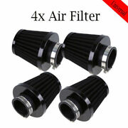 4x 47/48/49mm Air Filter Intake Cleaner Engine Inlet Pod Motorcycle Dirtbike