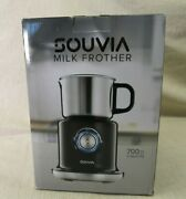 Souvia Automatic Milk Frother And Steamer Machine - Hot And Cold Temperature Co
