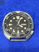 Seiko 6306-7001 Vintage Diver Overhaul Automatic Mens Watch Authentic Working