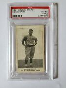 1921 Holsum Bread Heinie Groh Psa 4mc Pop 1 None Other Graded Extremely Rare