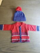 American Girl 18 Doll Retired Kit Treehouse Outfit Sweater And Hat