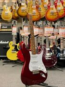 Fender Japan St62 And039and039mod.and039and039 -ocr Old Candy Apple Red 2008 Make Alder Body