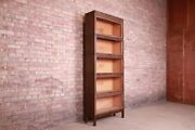 Shaw Walker Arts And Crafts Five-stack Barrister Bookcase, Circa 1920s
