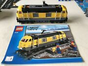 Lego Cargo Train 7939 + Track 7499 X2 And Switch 7895 Packs