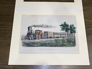 Original Currier And Ives Print The Express Train 127