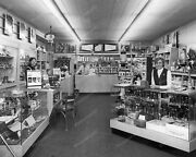 Old Camera And Film Store Vintage 8x10 Photography Reprint