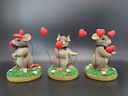 Lot Of 3 Charming Tails My Hearts All A Flutter Groom Fritz Floyd 82/101