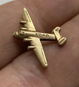 Wwii Era Consolidated B-24 Liberator Bomber Airplane Lapel Pin - Ford Willow Mi