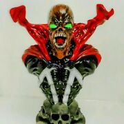 Spawn 3d Printed Statue 1/4 Big Bust Over A Foot Tall Painted