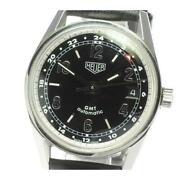 Tag Heuer Classic Carrera Gmt Ws2113 Automatic Stainless Menand039s Watch [b0608]