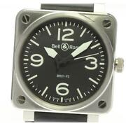 Bell And Ross Aviation Br01-92 Self-winding Stainless Steel Menand039s Watch [b0608]
