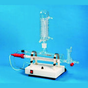 Glass Horizontal Distillation Medical And Lab Equipment Devices