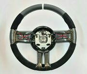 Ford Mustang 2011 2013 2014 Carbon Steering Wheel Shelby Gt500 Alcantara White