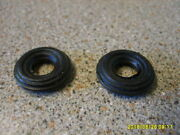 Corgi 1960s Farm X2 Front Tractor Ribbed Tyres Ford / Massey New Replacements