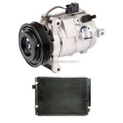For Cadillac Cts 2003 2004 Oem Ac Compressor W/ A/c Condenser And Drier Gap