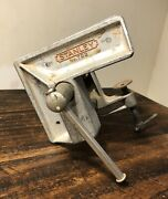Vintage Stanley Clamp On Bench Corner Vise No. 702 - Wood Working Made In Usa