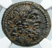 Antioch In Seleukis And Pieria Zeus And Nike Ancient Greek Coin Rare Ngc I89852