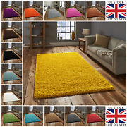 Modern Small Large Circle Round Hallway Runner 5cm Living Room Shaggy Thick Rugs