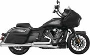 Freedom Union 2-into-1 Exhaust For Indian Challenger 2020 Chrome/black