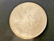 1991 Libertad 1/2oz Silver Capsule Started Nice Coin 6/8/21