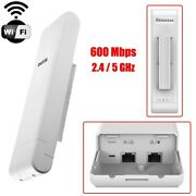 600mbps Outdoor Wireless N Access Point Wifi Long Range Router Extender Repeater