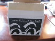Rare Eastern Idaho Boxed Set View-master 3d Advertising Reels And Model L Viewer