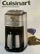 Cuisinart 12 Cup Grind And Brew Coffee Maker Dgb900bc Silver And Black