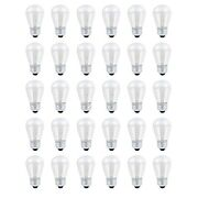 30 Pack S14 Outdoor String Light Bulbs Set 120v 11w Clear Outdoor Patio Vint...