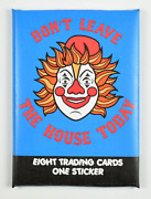Dont Leave The House Today Wax Pack Pee Wee Herman Super Secret Fun Club Parody