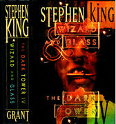 The Dark Tower Iv Wizard And Glass Stephen King 1st Edition Grant Signed F-/f