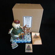 2007 Enesco Jim Shore Rudolph The Red Nosed Reindeer Traditions Sam The Snowman