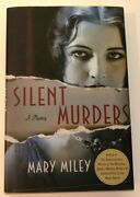 Silent Murders A Mystery Woman Amateur Detective 1920s Hollywood W/ Real Actors