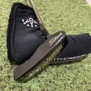 Scotty Cameron Studio Stainless Steel Newport 1.5 Prototype 35andrdquo Putter W Cover