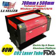 Usa 27.5 Andtimes 20 700mmandtimes500mm 80w Co2 Laser Engraving Engraver And Cutter Machines