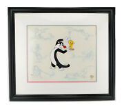 Tweety And Sylvester Persona Limited Edition Looney Tunes Cel Art