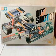 Unused Tamiya Hot Shot Ii 4wd 1/10 Rc Buggy Unassembled F-1 Carbon Frp Chassis