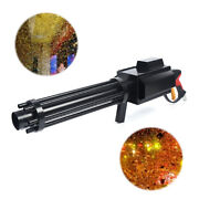 Handheld Led Confetti Gun Co2 Atmospheric Effect Color Paper Smoke Machine Party