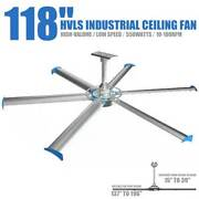Big Air Industrial Indoor Ceiling Fan 4000m3/min For Shopcommercial Residential