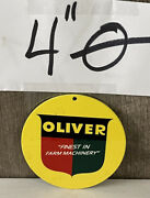 Oliver Tractor Farm Machinery Gas Oil Magnet Harvest Truck Equipment
