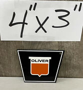 Oliver Tractor Magnet Farm Machinery Equipment Tractor Agriculture Gas Oil