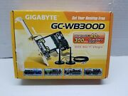 Gigabyte Gc-wb300d 1mbps/2mbps/3mbps Data Rate Exclusive Bluetooth 4.0/wi-fi...