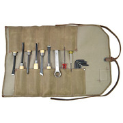 Waxed Canvas Small Tool Roll Handmade By Hide And Drink Fatigue