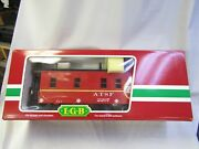 Lgb 40790 Santa Fe Ce-5 Caboose Made In Germany Pre Owned G Scale Lighting