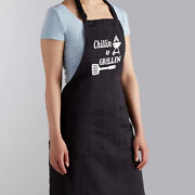 Chilling And Grilling Dad Funny Father's Day Gift For Him Bbq Grill Manly Apron