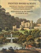 Dominic Winter Book Auctions. Printed Books And Maps Important Travel And Topograp