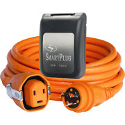 Smartplug 30 Amp Dual Configuration 50and039 Cordset W/tinned Wire Andtwist-type Con...