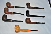Lot Of 7 Estate Smoking Pipes - All One Money